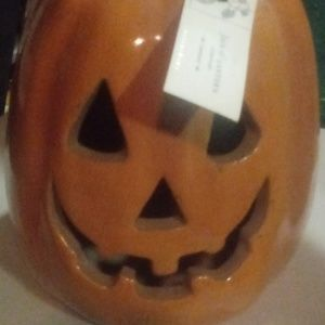 Pottery Barn Pumpkin jack o lantern luminary